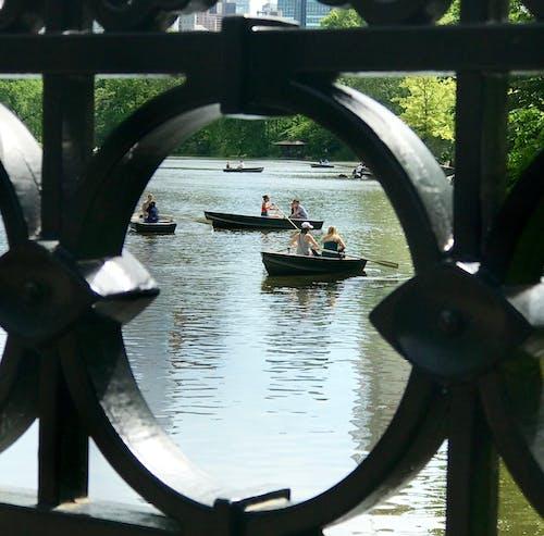 Free stock photo of boats, central park, new york city, rowboats