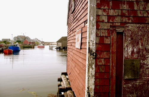 Základová fotografie zdarma na téma červená, čluny, nové skotsko