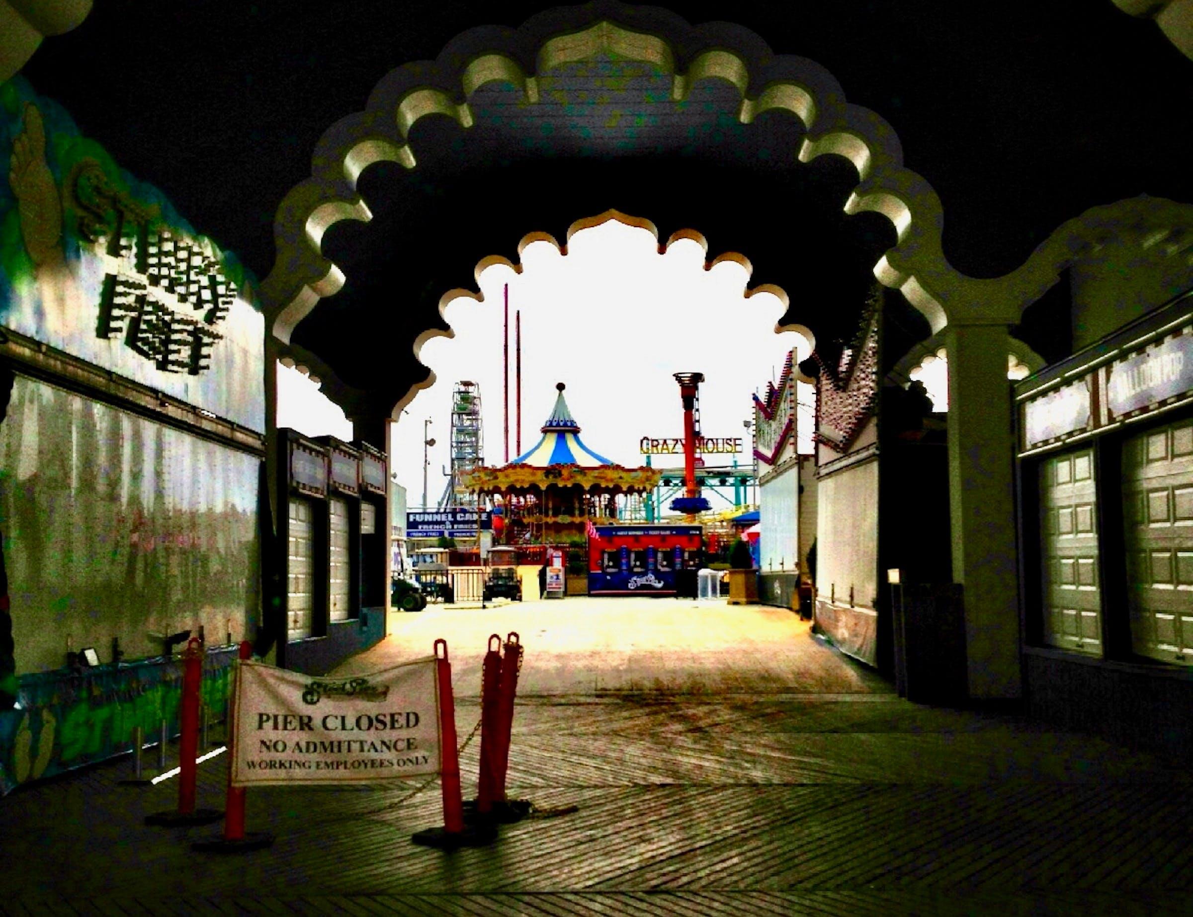 Free stock photo of boardwalk, carnival, pier