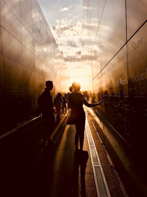 Kostenloses Stock Foto zu 9/11, denkmal, dunkel, himmel