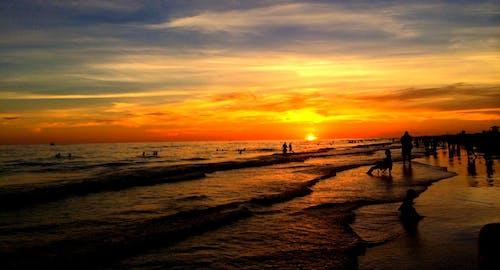 Free stock photo of beach, ocean, sunset