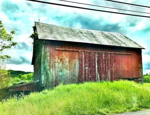 Základová fotografie zdarma na téma červená, farma, stodola