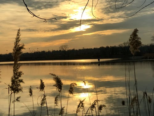 Základová fotografie zdarma na téma příroda, voda, západ slunce