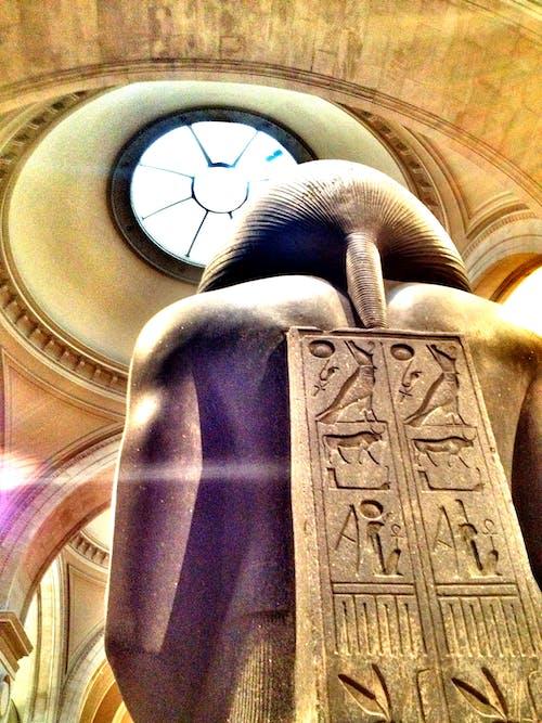 Základová fotografie zdarma na téma Egypt, muzeum, socha