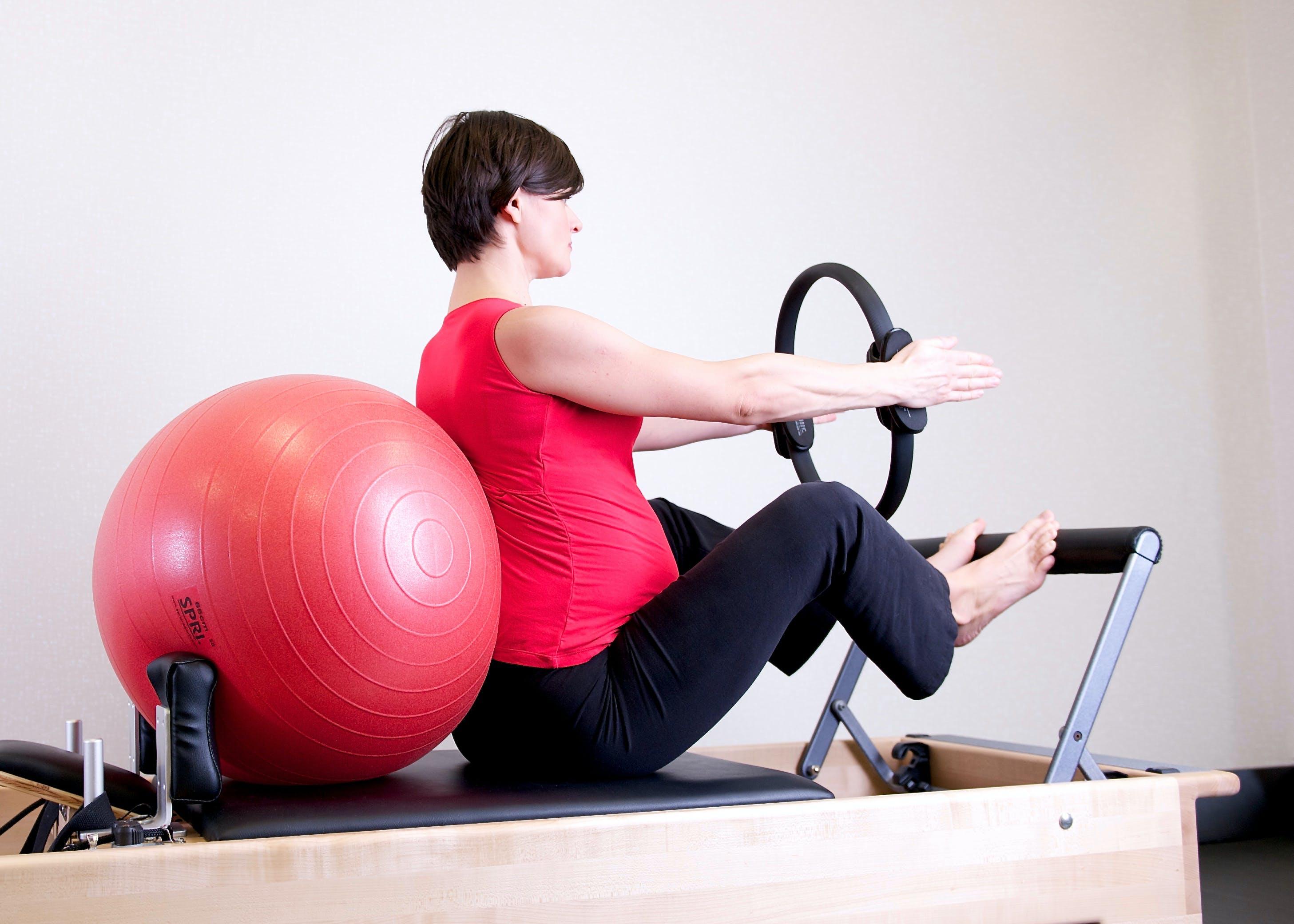 aerobics, aktiv, bold