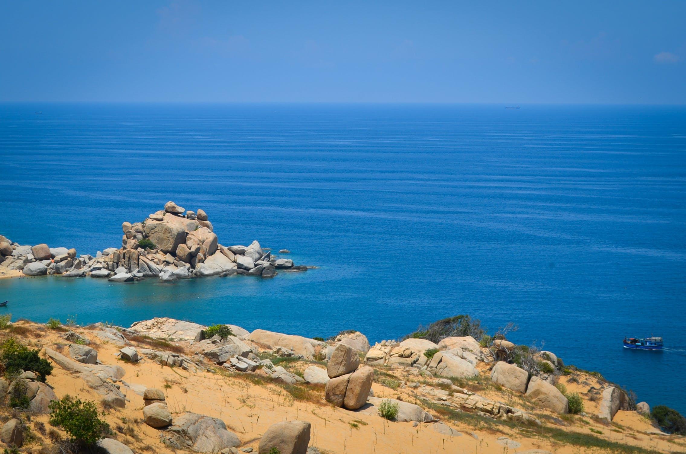 Free stock photo of sea, rocky
