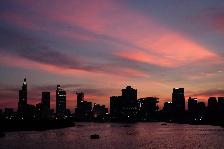 Δωρεάν στοκ φωτογραφιών με αστικός, βιετνάμ, δύση του ηλίου, ουρανοξύστης