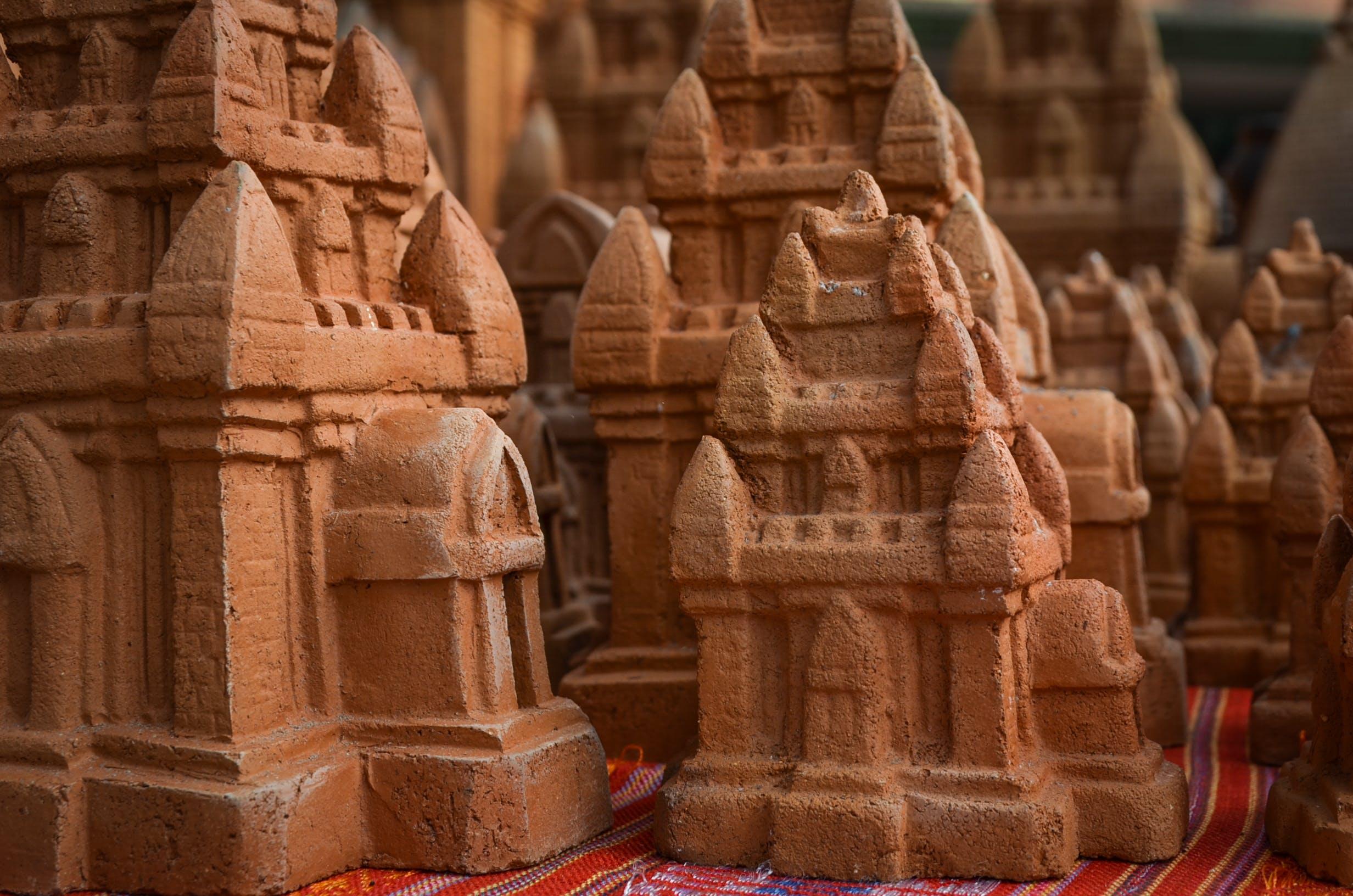 Free stock photo of Champa, statue