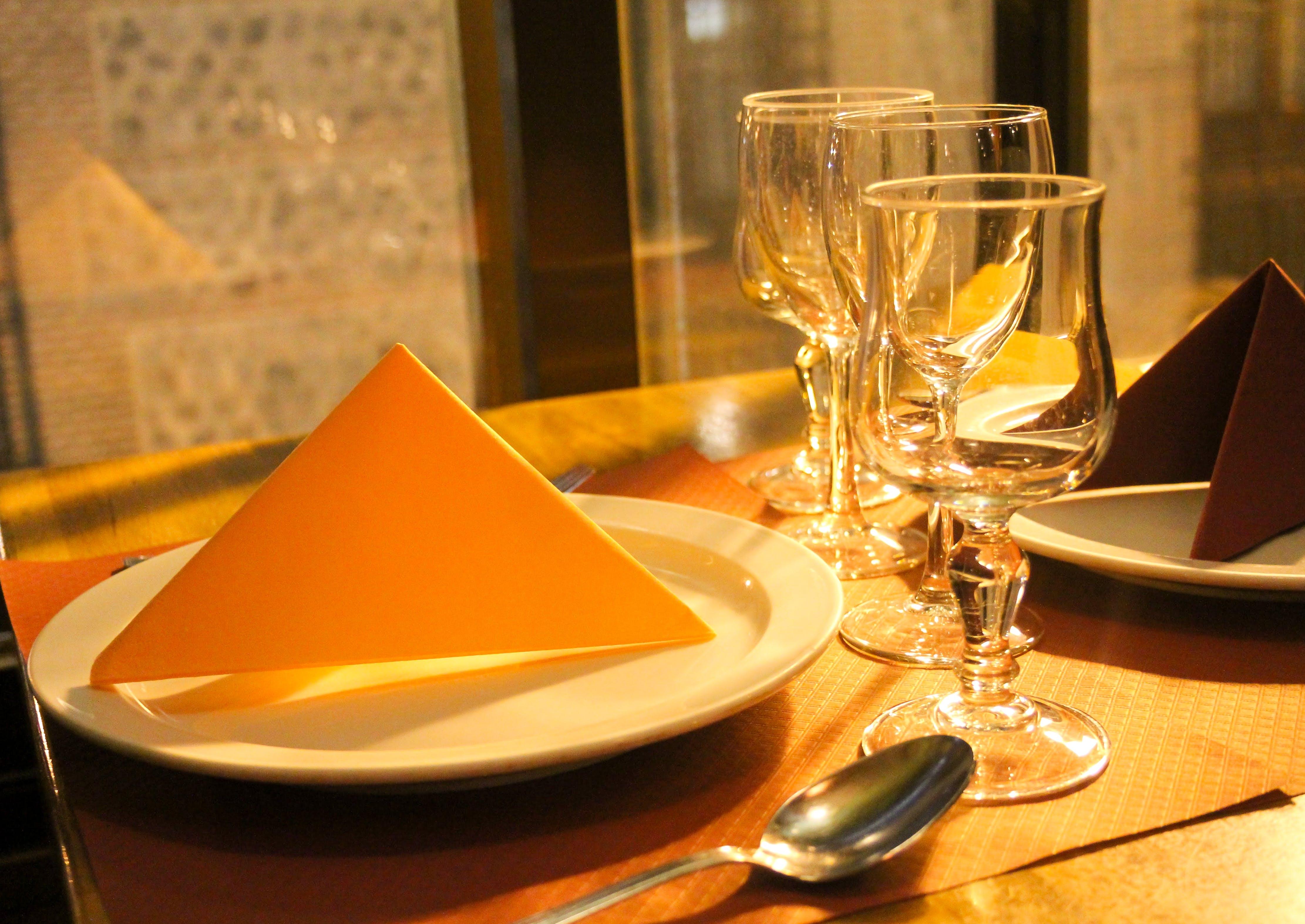 Free stock photo of anaranjado, cenar, Copa, dinner