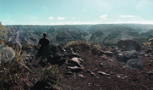 Foto d'estoc gratuïta de barranc, caminada, Hawaii, home