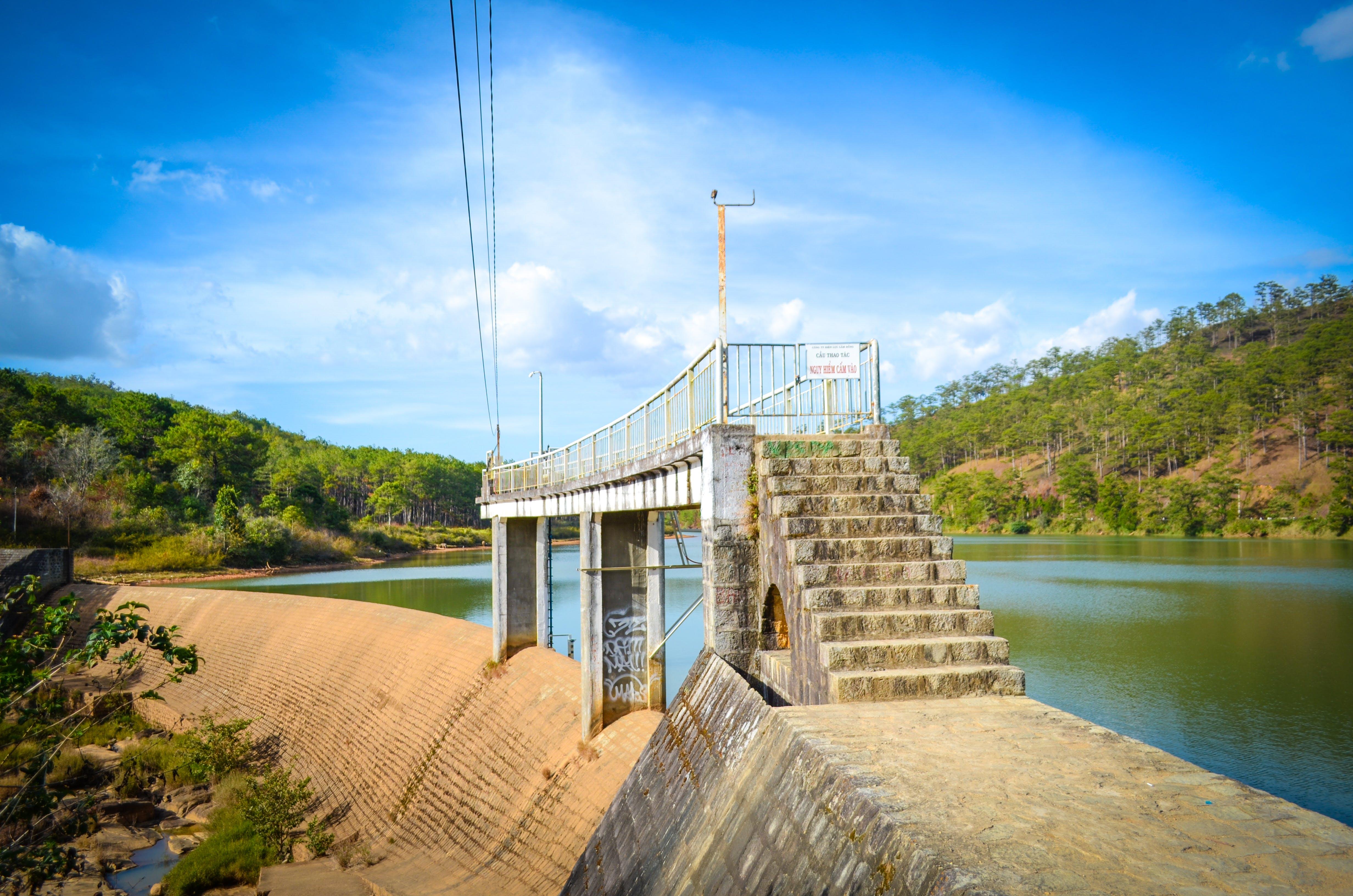 Free stock photo of dams