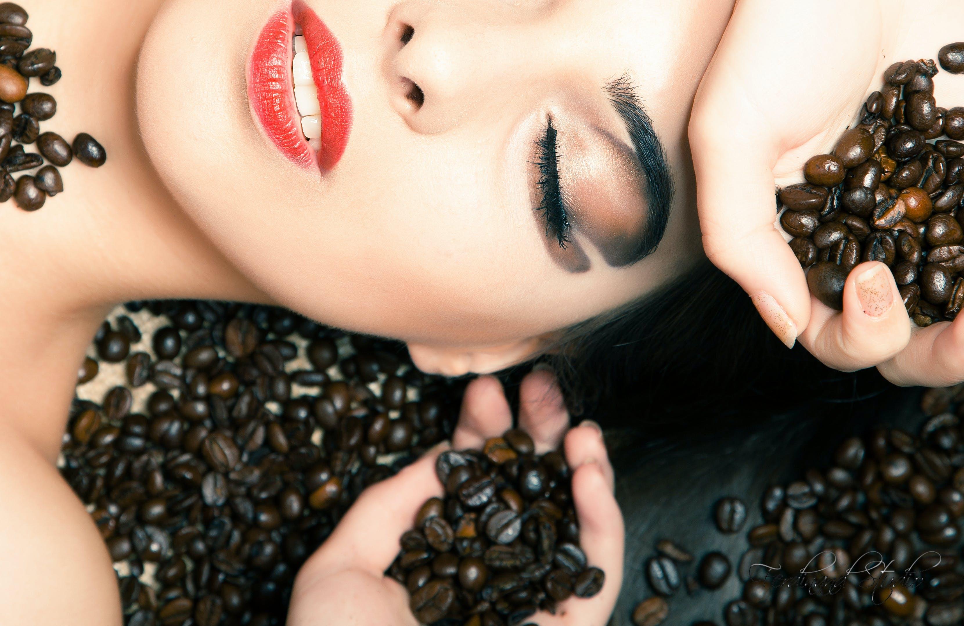 Free stock photo of girl, face, riga, cofe