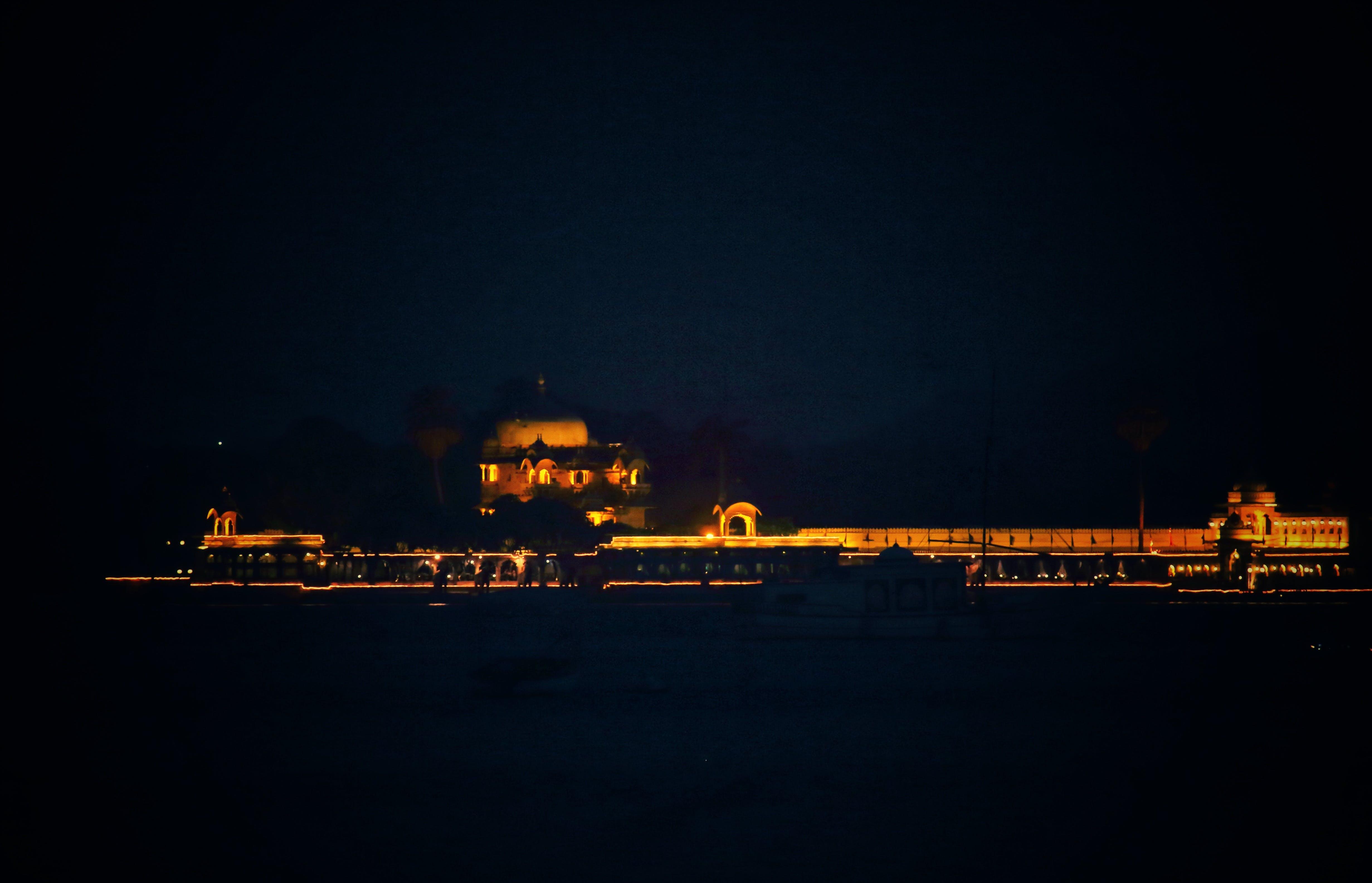Gratis stockfoto met #best_ig_photographers #all_shots #ig_captures #lo, #nightphotography #udaipur #gangaurghat