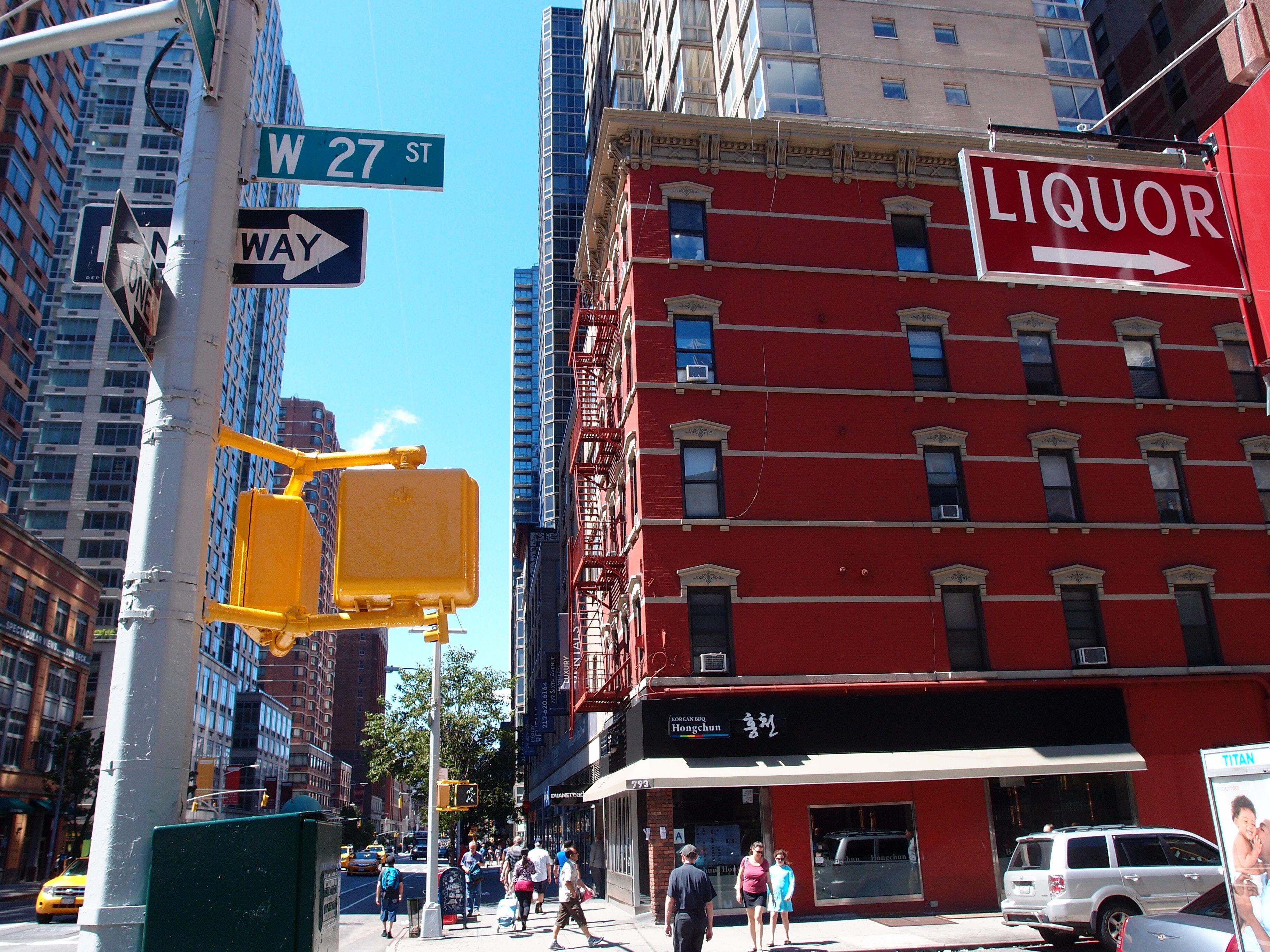 Free Stock Photo Of 27 Street New York City Nyc