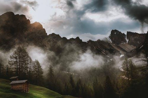 景觀, 有霧, 美景, 艙 的 免费素材照片