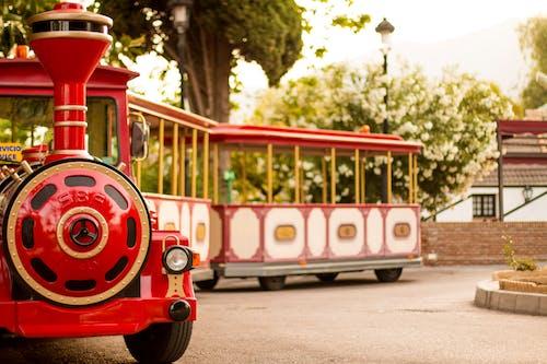 宏觀, 火車, 騎乘 的 免费素材照片