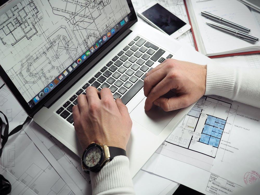 arquitecte, arquitectura, bolígrafs