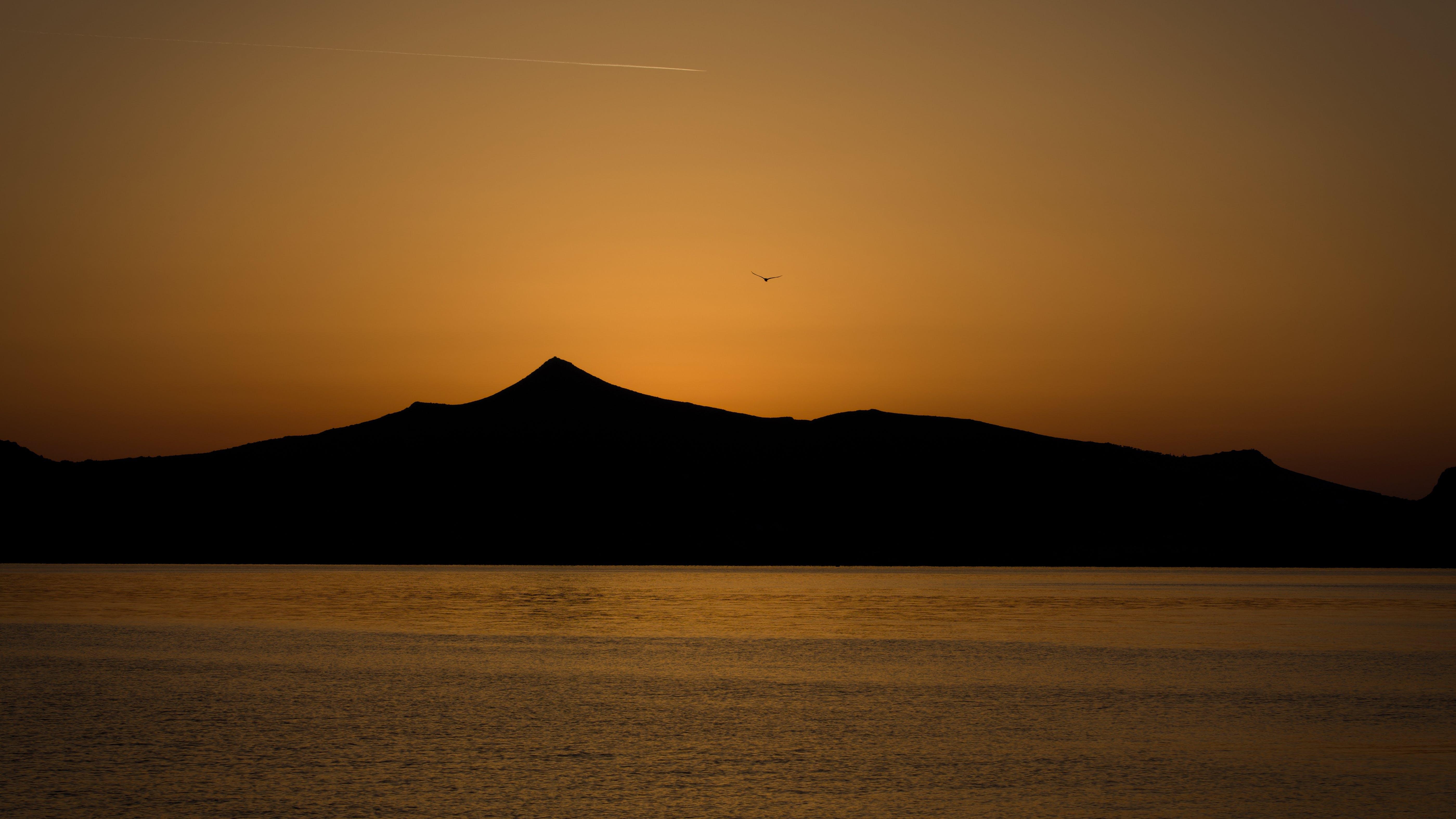 Free stock photo of landscape, romantic, island, golden hour