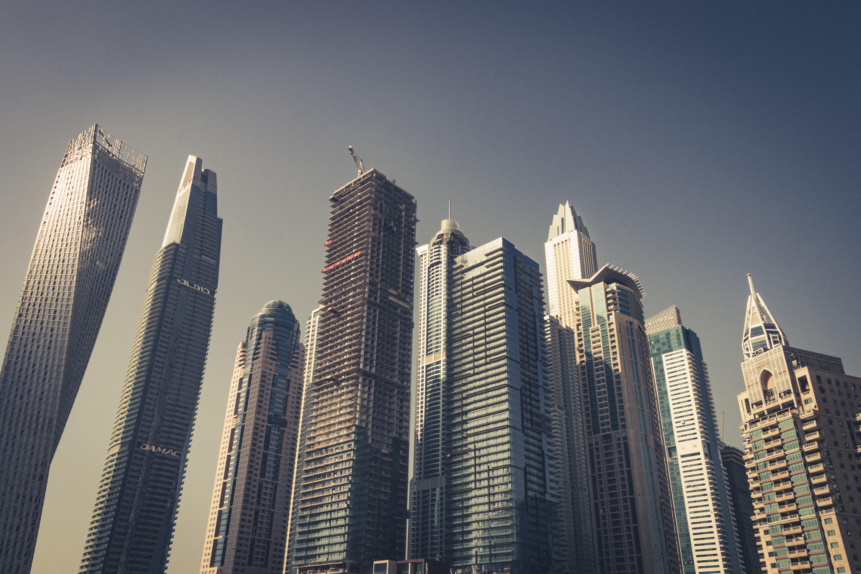 Gratis lagerfoto af Dubai, fotografia, himmel, marina
