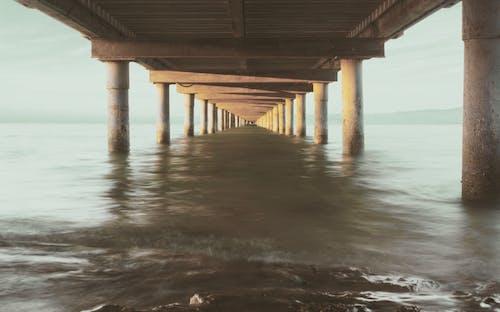 Free stock photo of #woods, beach, bridge, golden hour