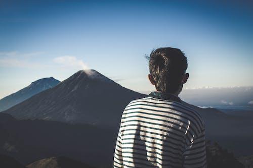Kostenloses Stock Foto zu abenteuer, berg, günung prau, indonesien