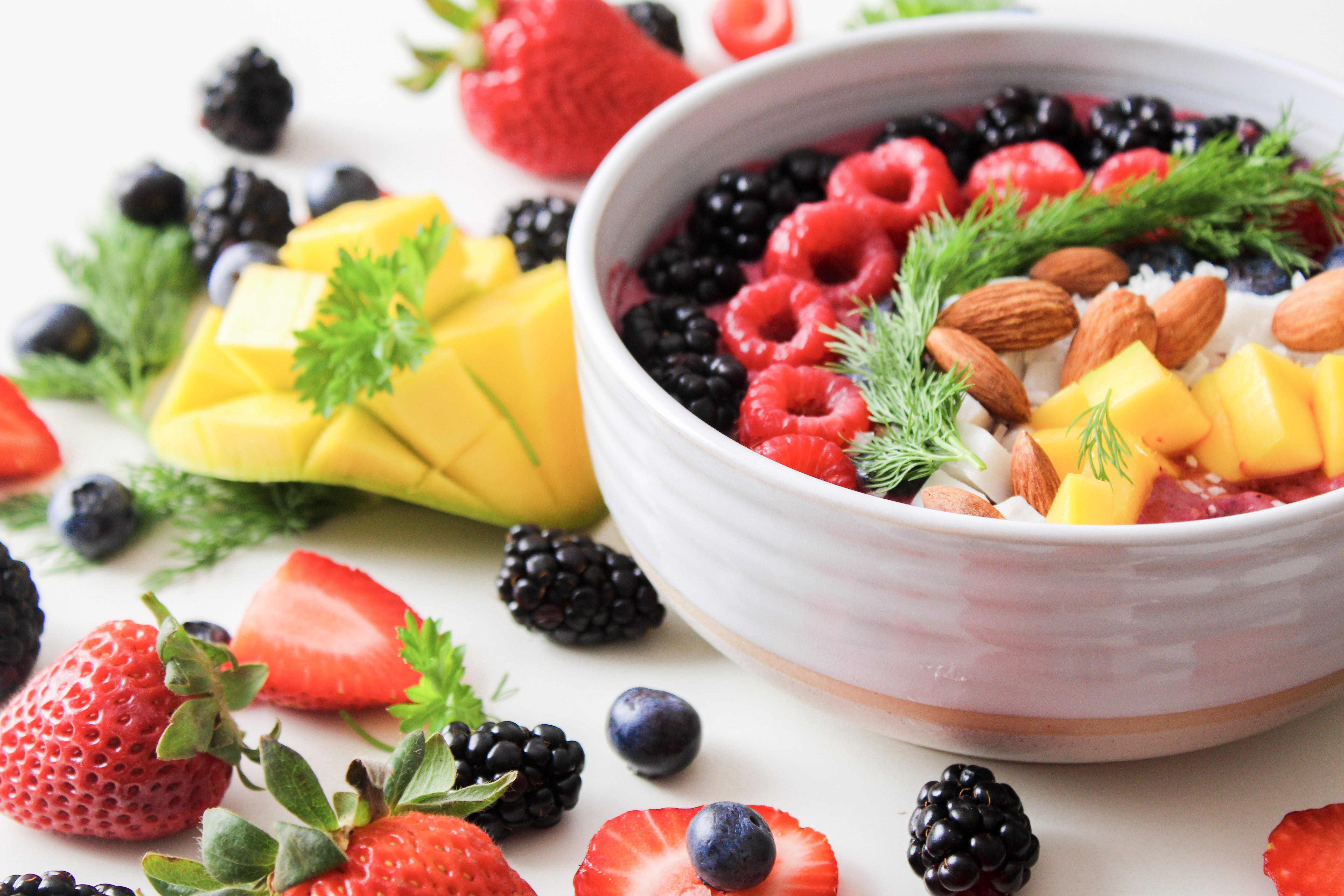 Fruit Salad In White Ceramic Bowl - Ultimate Skincare Guide