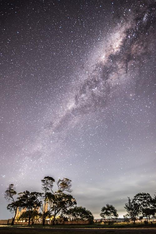 คลังภาพถ่ายฟรี ของ กลางคืน, กลุ่มดาว, การถ่ายภาพกลางคืน, งดงาม