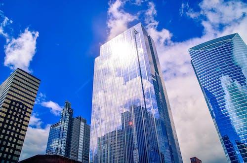 Gratis stockfoto met Amerika, architectuur, binnenstad, blauwe lucht