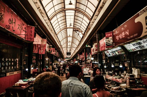 Δωρεάν στοκ φωτογραφιών με sinpo, αγορά, αγορά τροφίμων, ασιατικό φαγητό