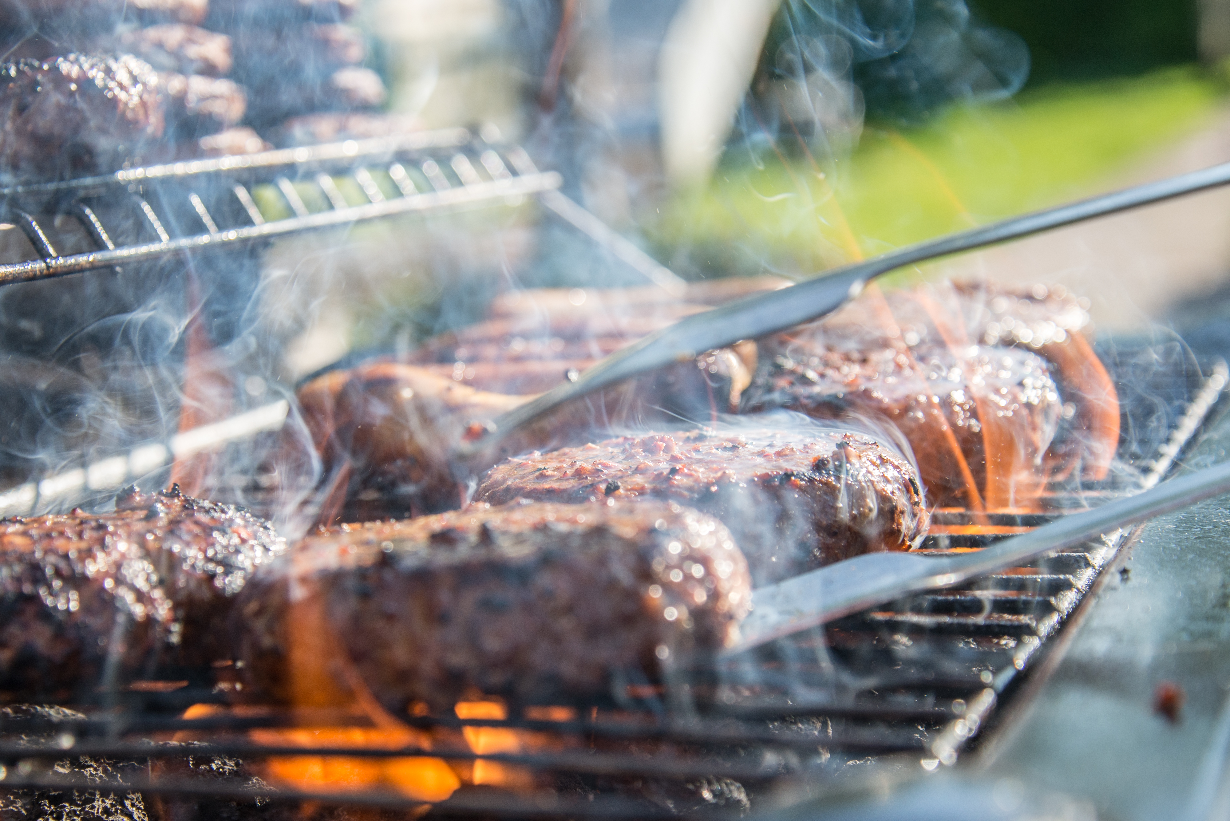 Close Photography of Grilled Meat on Griddle