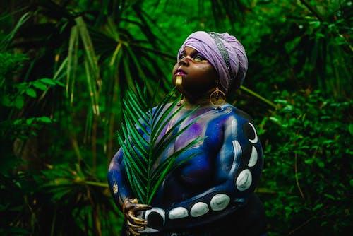 Imagine de stoc gratuită din arbori, basma, culori, de sex feminin