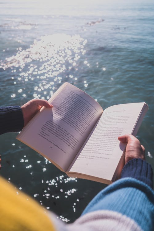 Photos gratuites de mer, océan, pages de livre