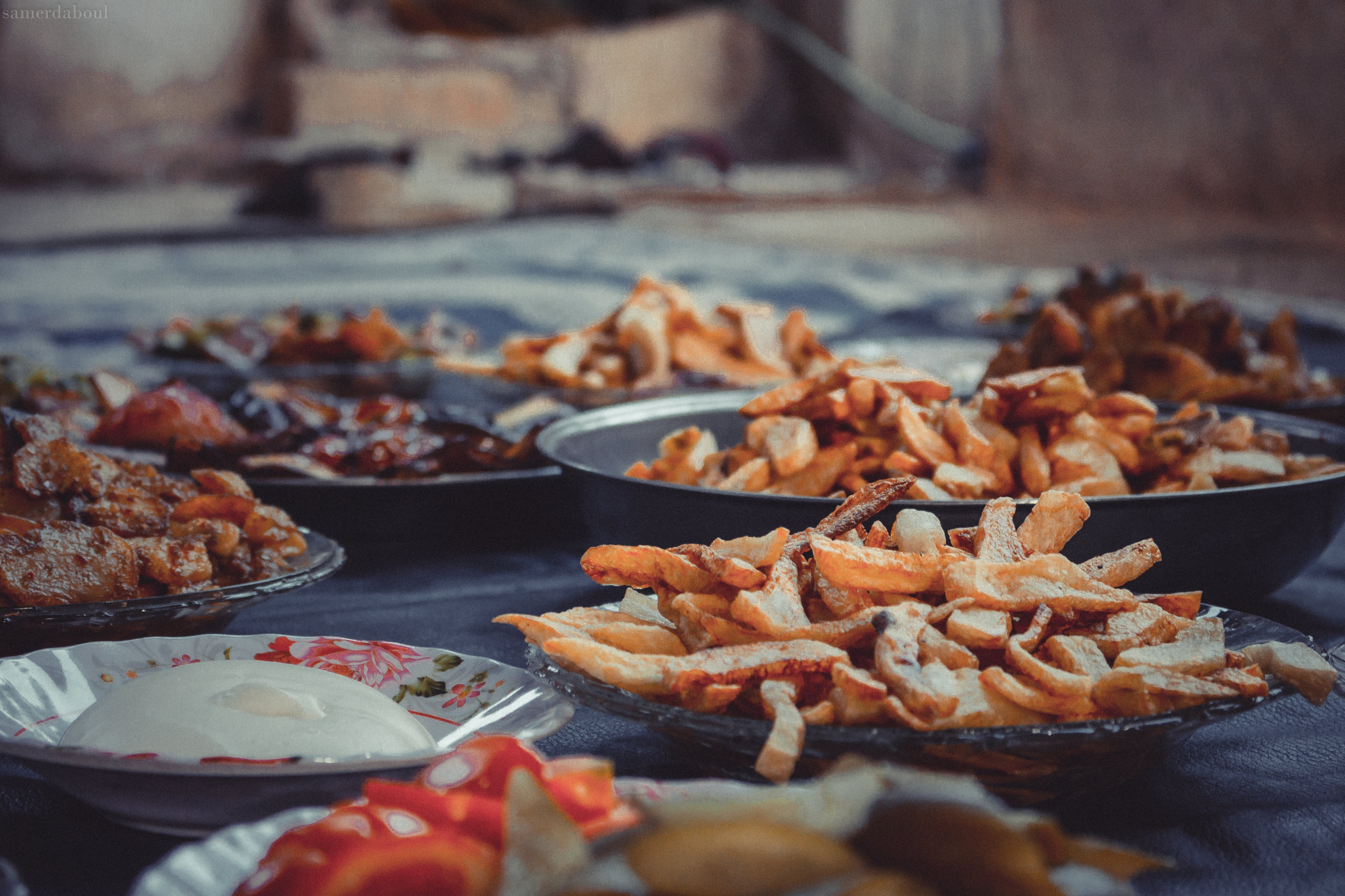 Free stock photo of fast, food, food counter, food photography