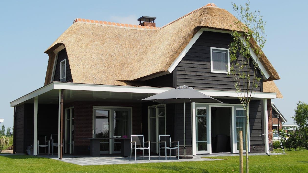 architektúra, budova, dom