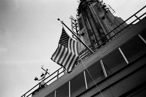 Kostenloses Stock Foto zu 35mm, amerika, amerikanische flagge, analog