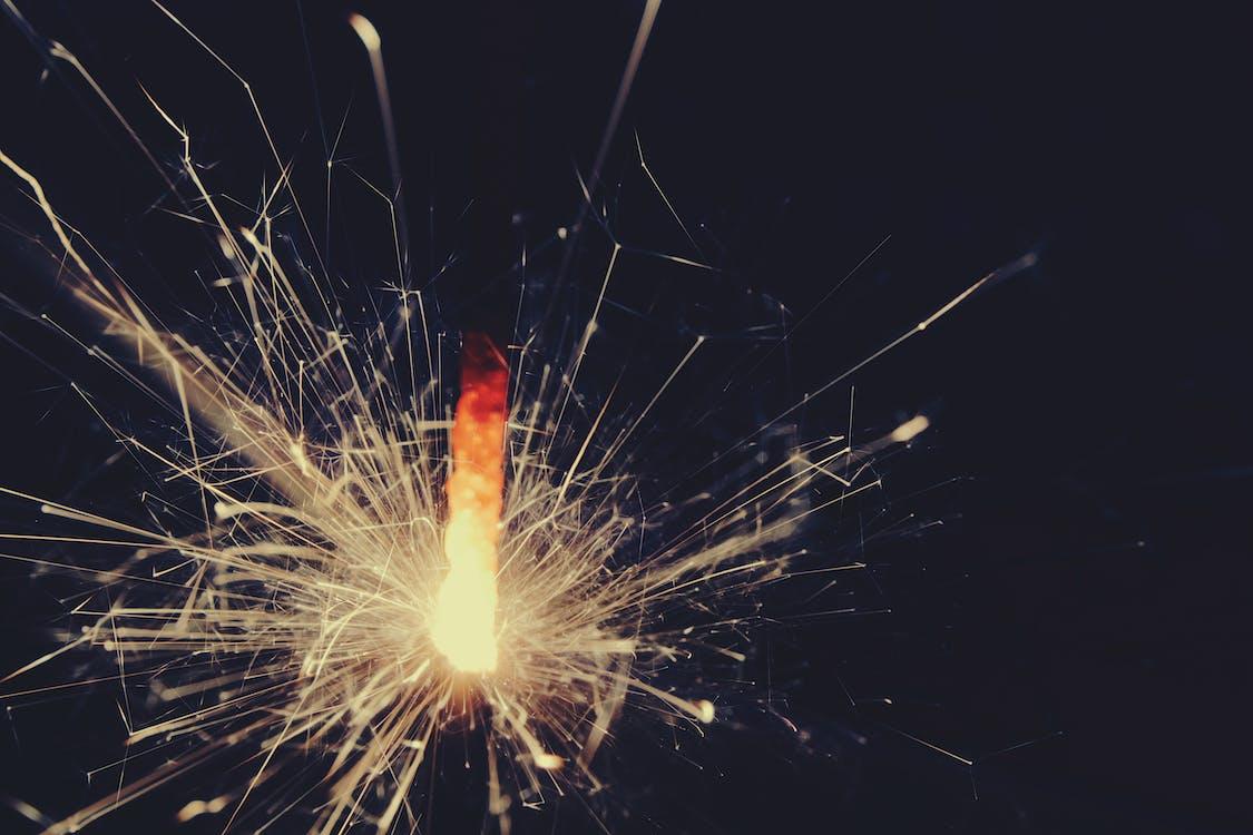 ăn mừng, ánh sáng, giao thừa