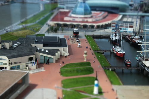 Free stock photo of city, miniature, museum, port