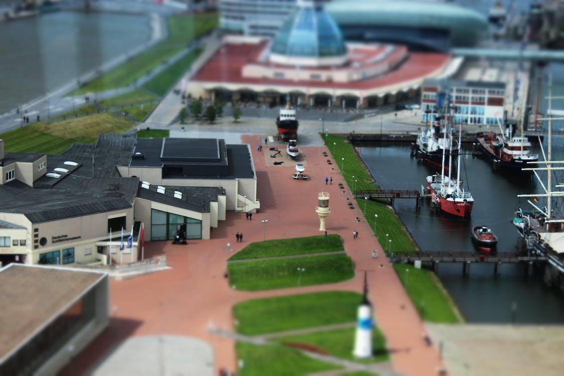 město, miniatura, muzeum
