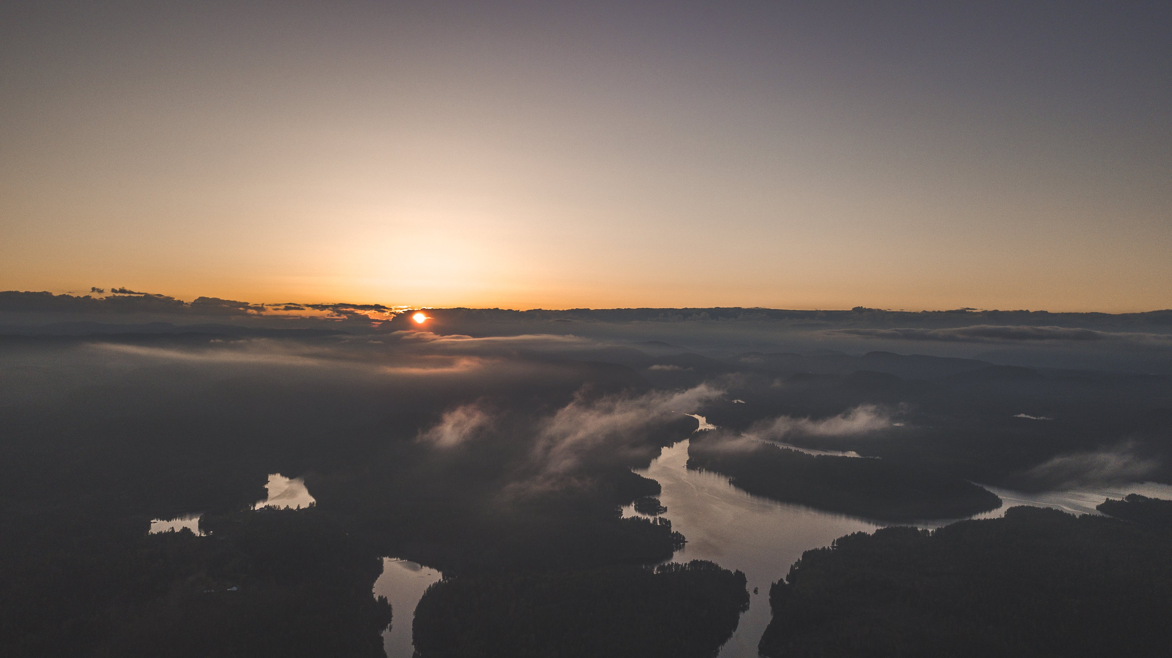 Sea of Clouds during Sunset