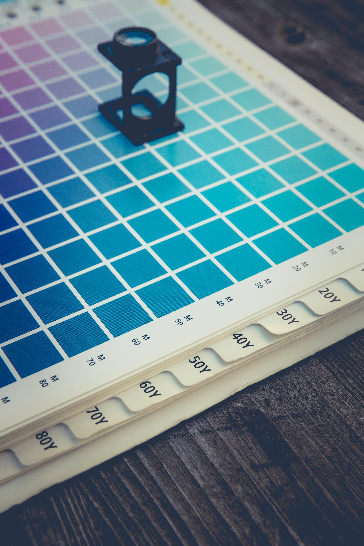 Kostenloses Stock Foto zu bunt, cmyk, farben, farbpalette
