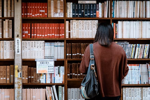 คลังภาพถ่ายฟรี ของ ค้นคว้า, ความรู้, จัดเรียง, ชั้นวางของ