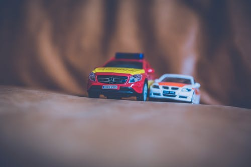 Foto d'estoc gratuïta de cotxes, cotxes model, joguines, macro