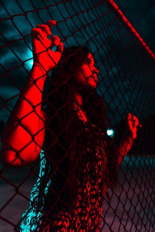 Kostenloses Stock Foto zu blau, nacht, rot, sigma
