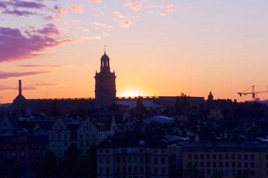 Free stock photo of sunrise, stockholm