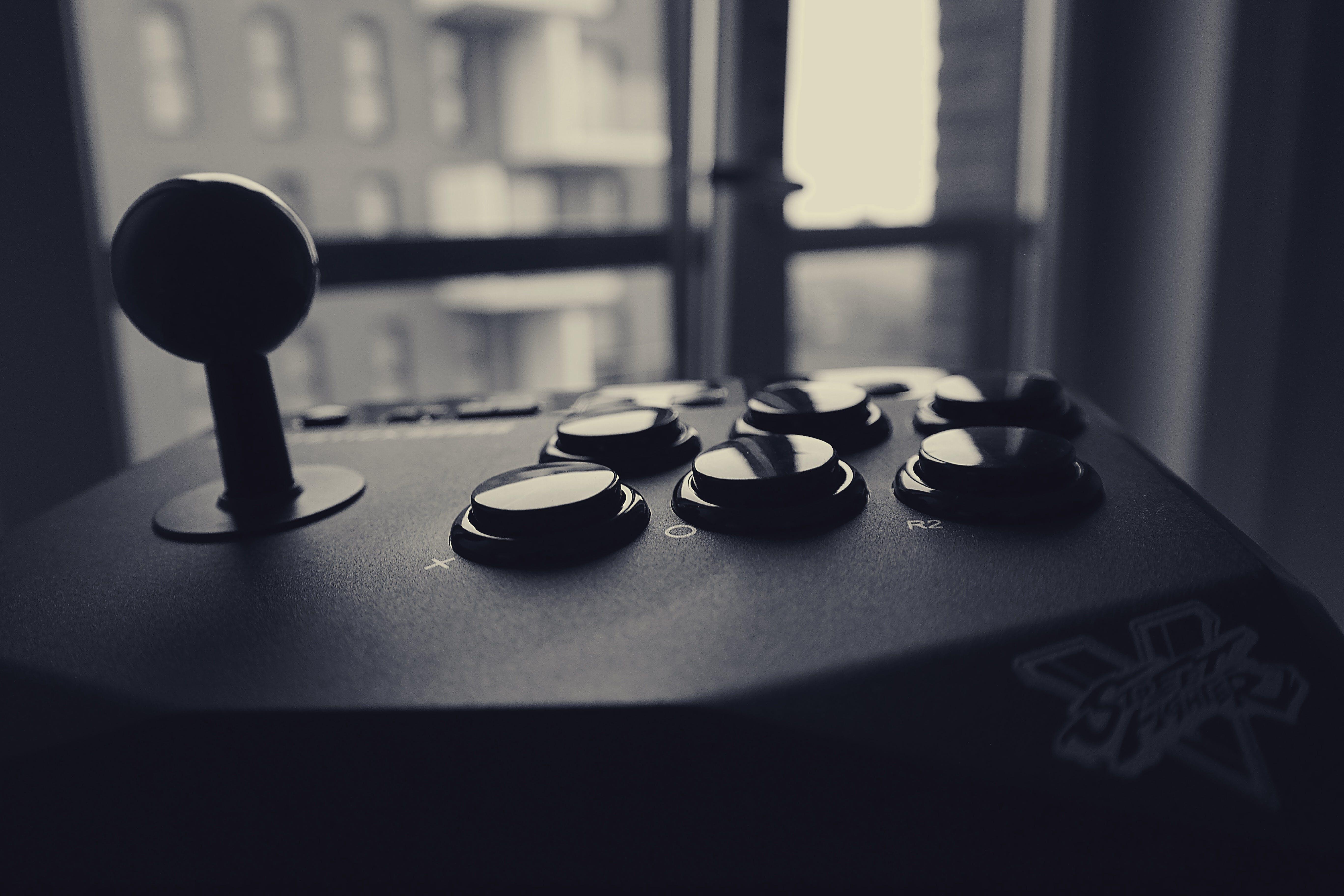 Gray Scale Arcade Controller