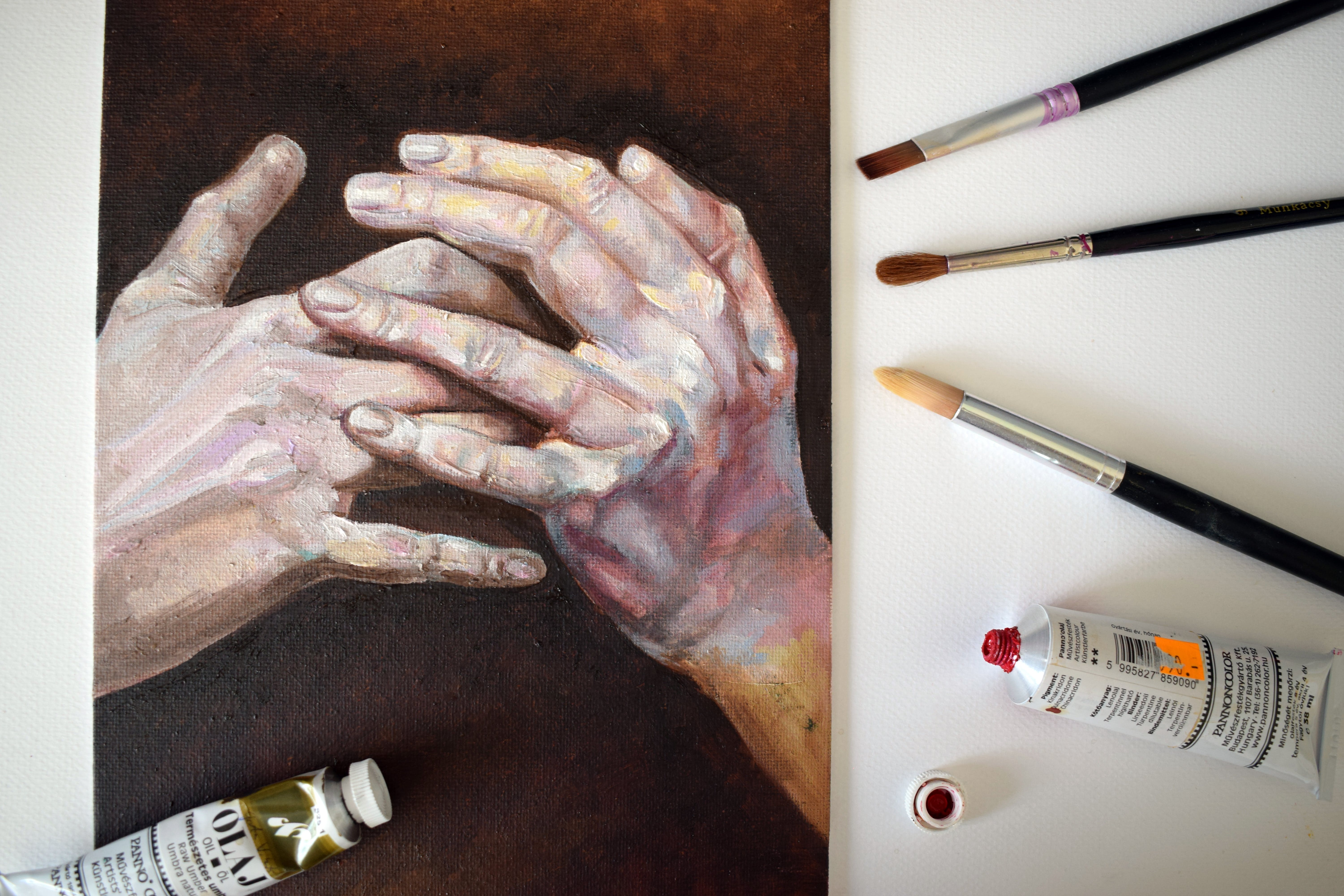Human Hands Painting