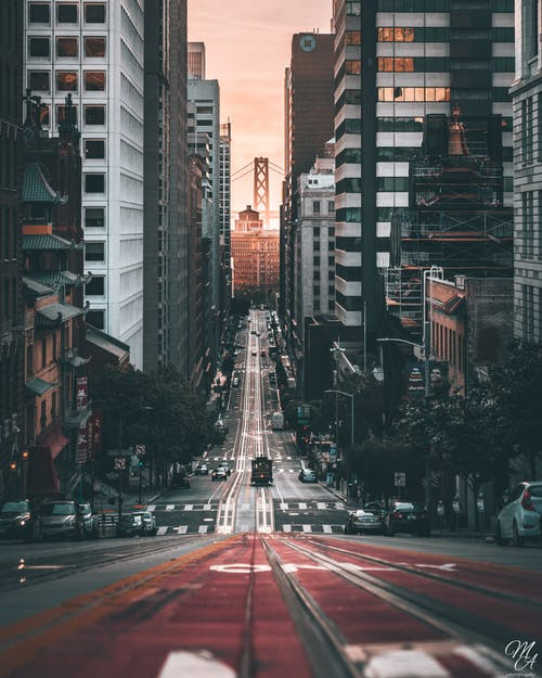 Free stock photo of bay area, Bay Bridge, sf, streets