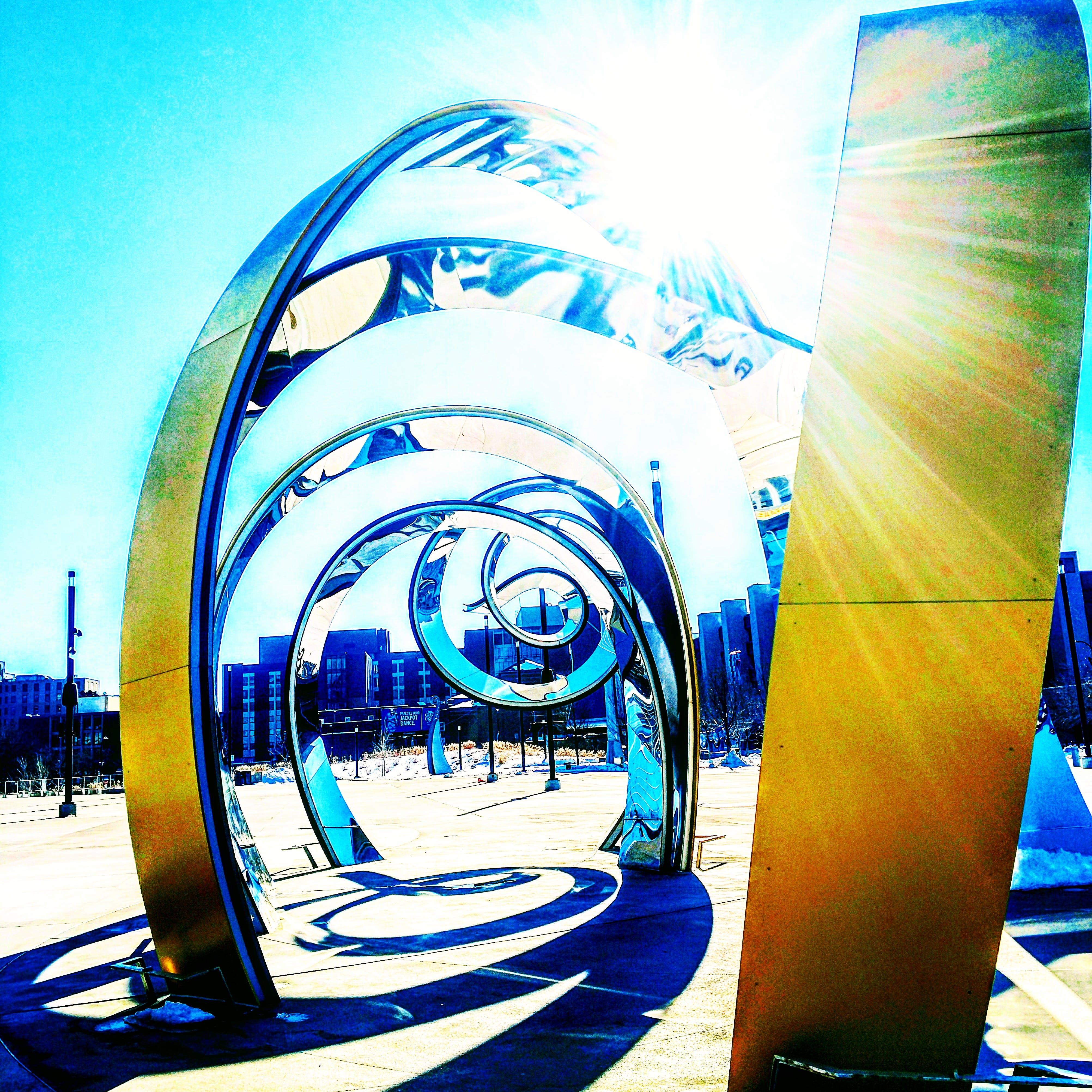 Free stock photo of art, city, explore, shine
