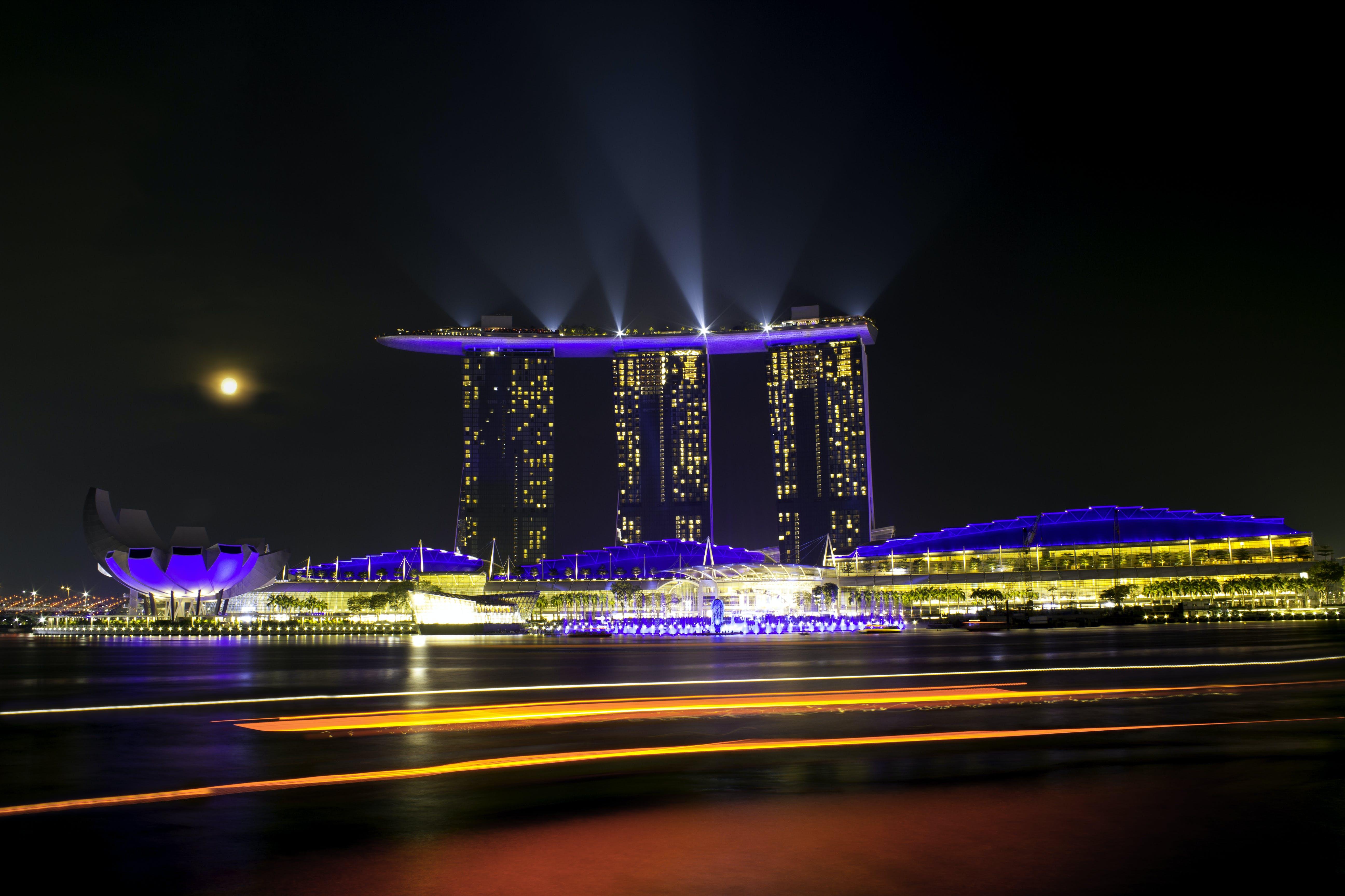 Free stock photo of light beam, singapore