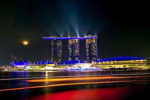 Fotobanka sbezplatnými fotkami na tému lúč svetla, Singapur